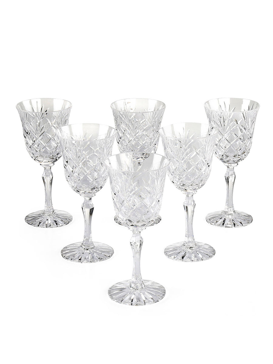 Joan Goblet 200 ml Stemware 6 Pieces (Clear)
