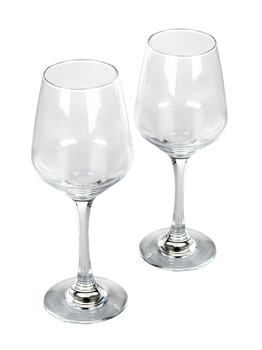 Infinity Wine 260 ml Stenware 2 Pieces (Clear)