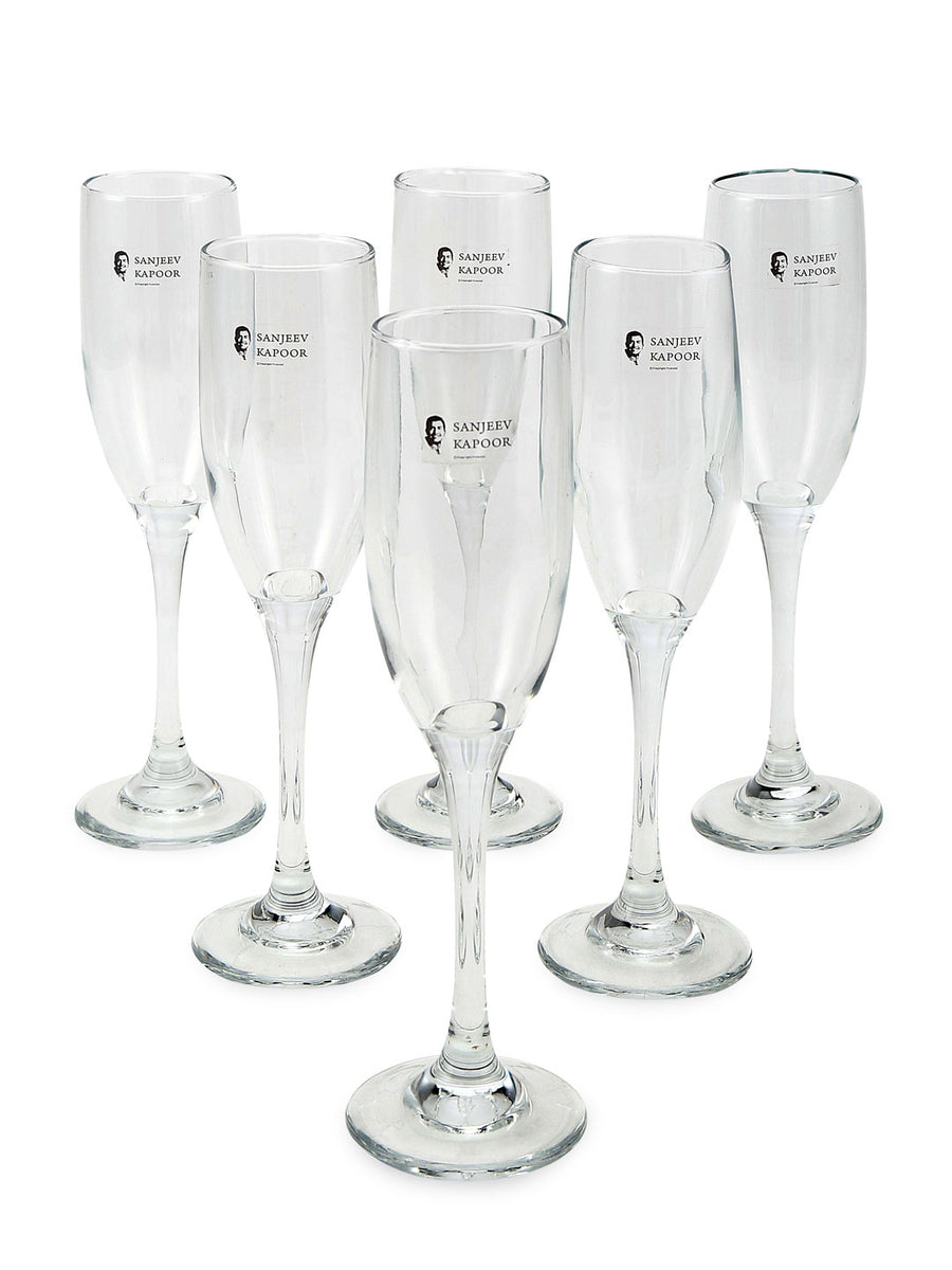 Inifinity Champ 190 ml Stemware 6 Pieces (Clear)
