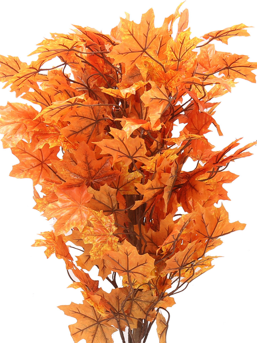 Maple Artificial Tree (Orange)