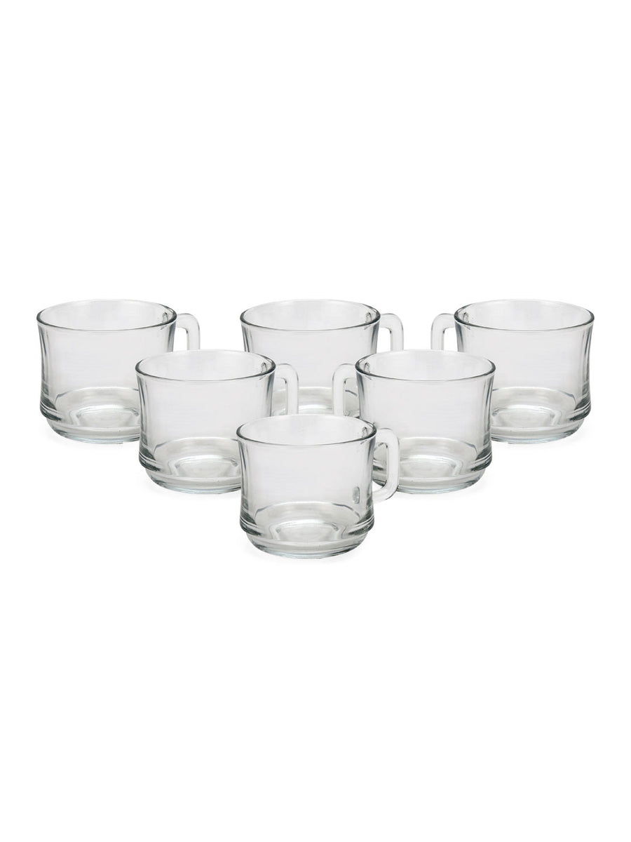 220 ml Cup 6 Pieces (Clear)