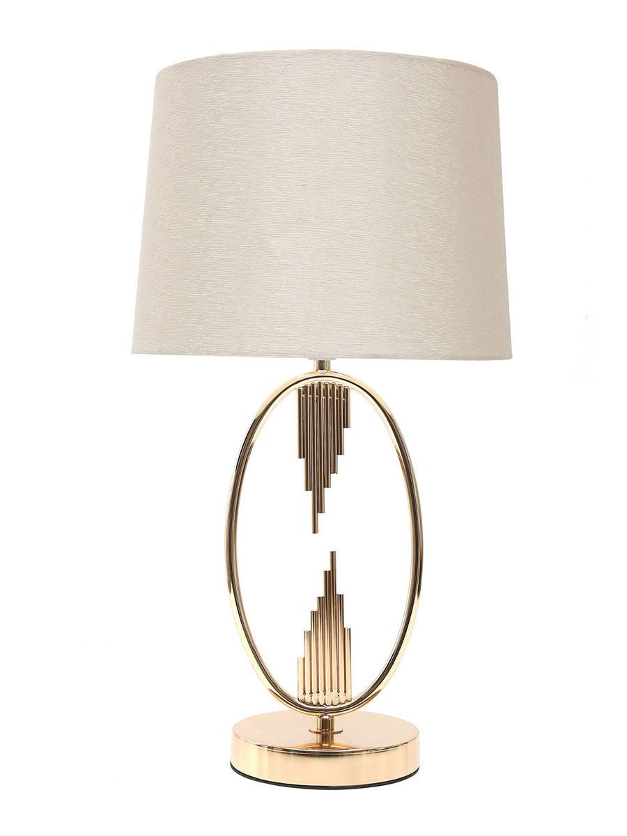 Contemporary Table Lamp (Gold)