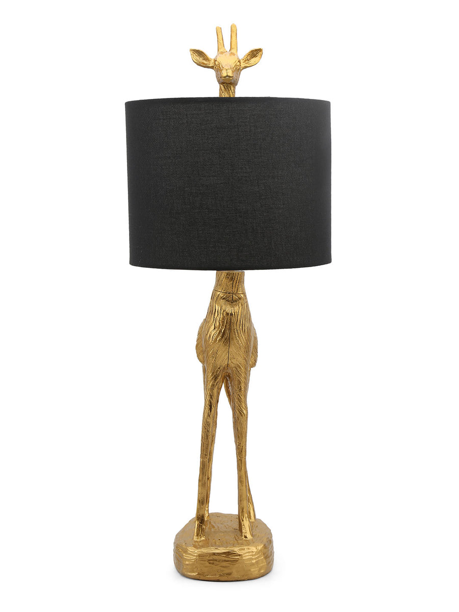 Giraffe Table Lamp (Gold)