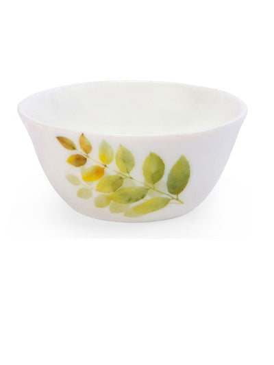Laopala Autumn Shadow Veg Bowl Set Of 6 Piece (Ivory)