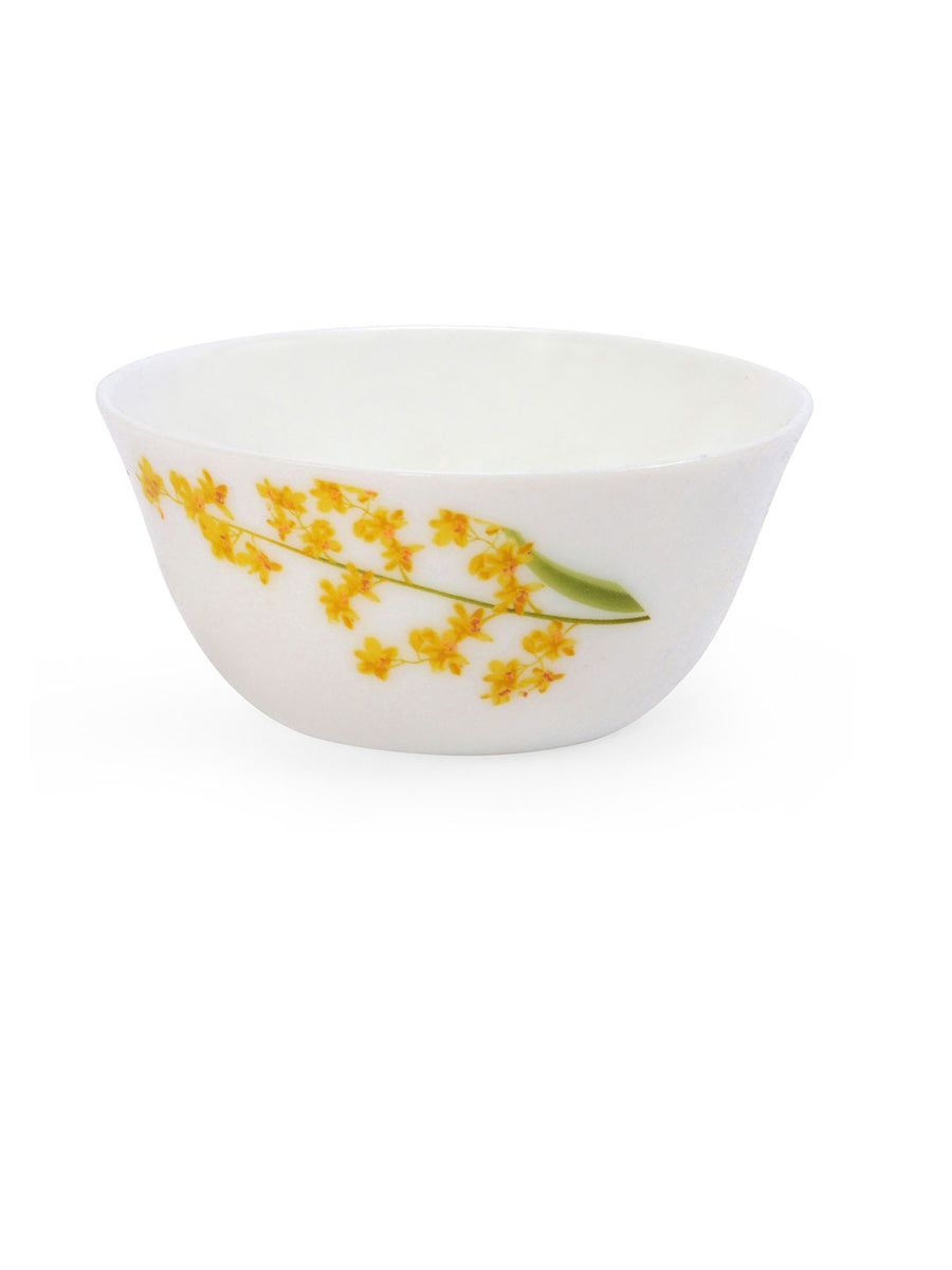 Laopala Yellow Grace Soup Bowl Set Of 6 Piece (Ivory)