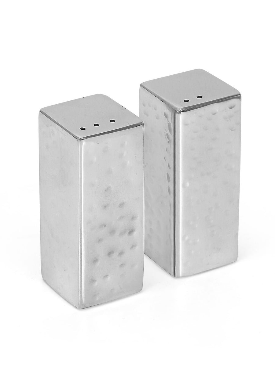 Hammered Salt & Pepper Set of 2 (Silver)