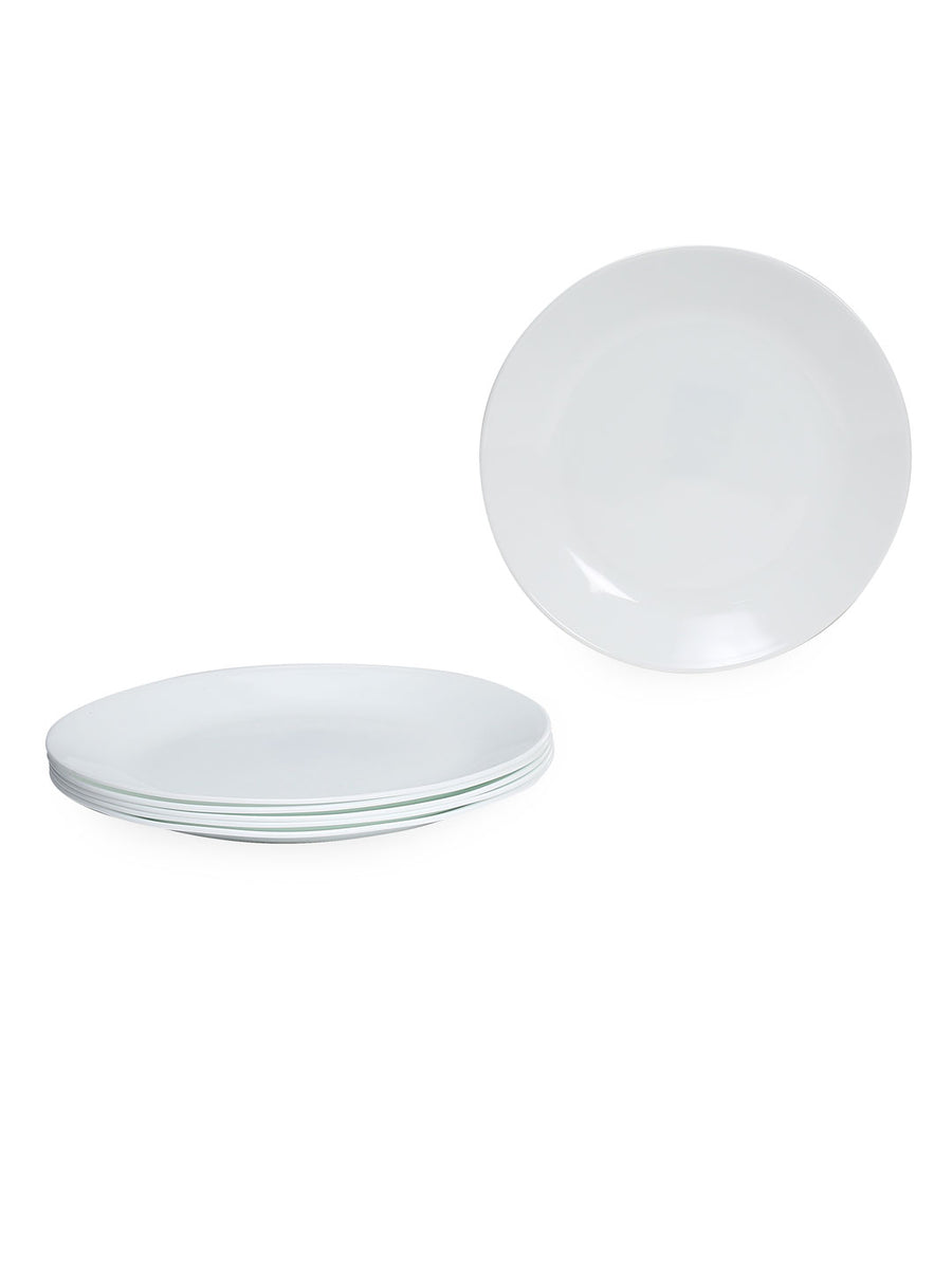 Winter Frost Dinner Plate Set Of 6 (White)