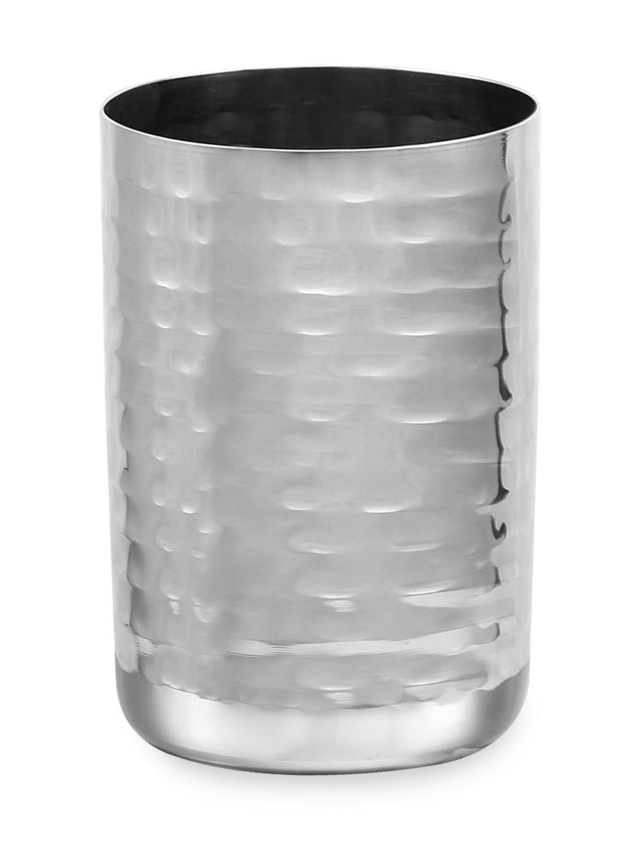 Hammered Straight 300 ml Tumbler (Silver)