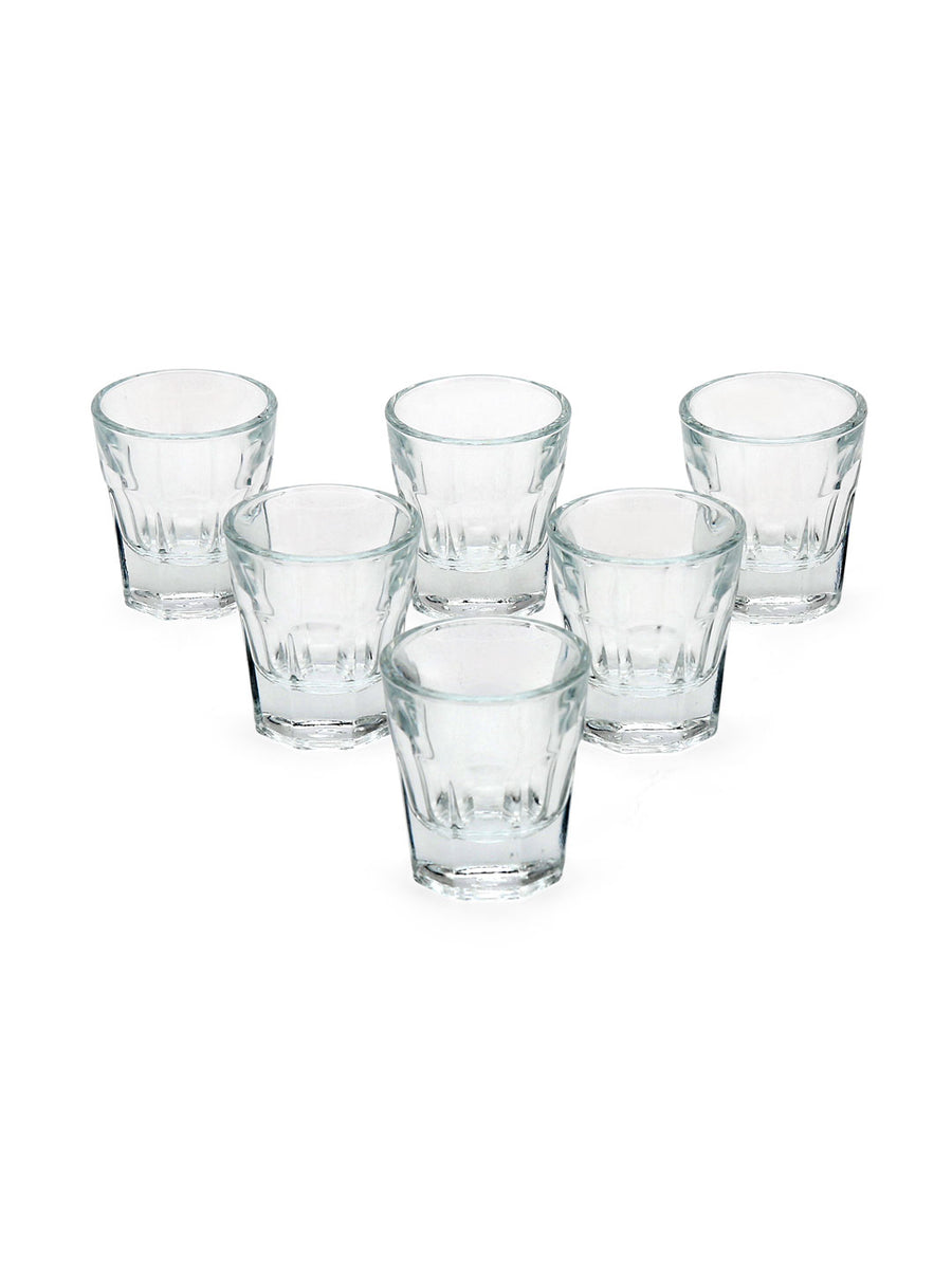 Casablanca 37 ml Shot Glass 6 Pieces (Clear)