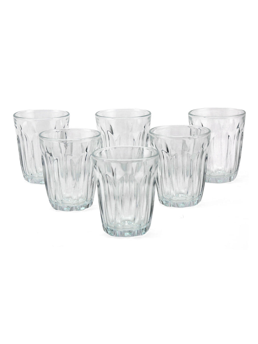 Provence Goblet 90 ml Tumbler 6 Pieces (Clear)