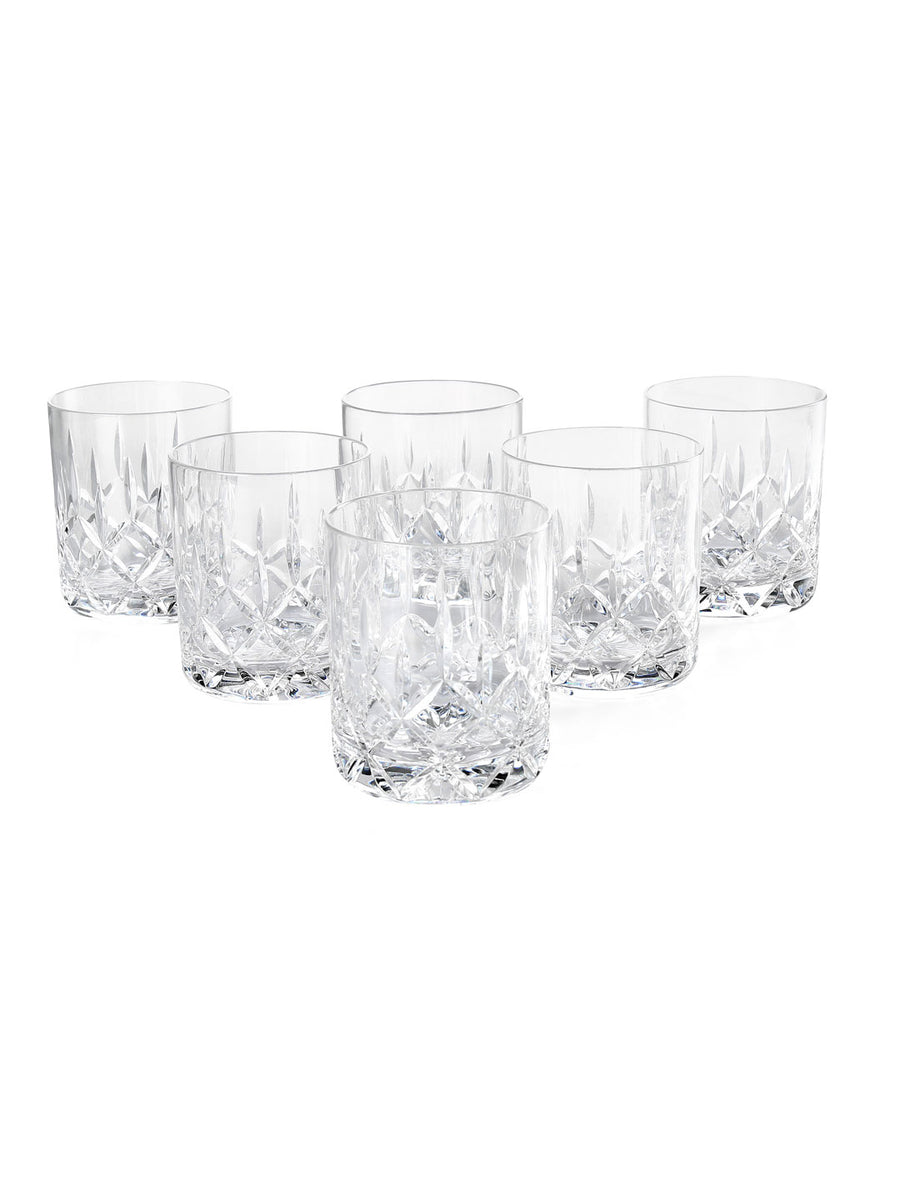 Cylinder Whisky 400 ml Tumbler 6 Pieces (Clear)