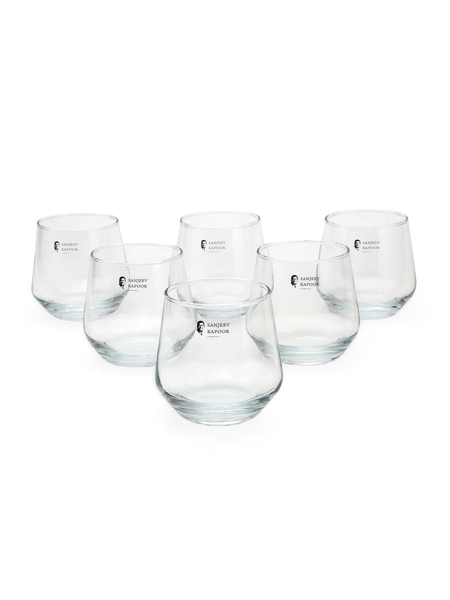 Sydney 260 ml Tumbler 6 Pieces (Clear)