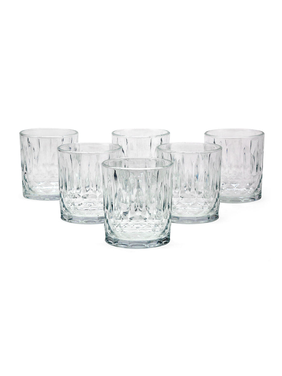 Gem Juice 240 ml Tumbler 6 Pieces (Clear)