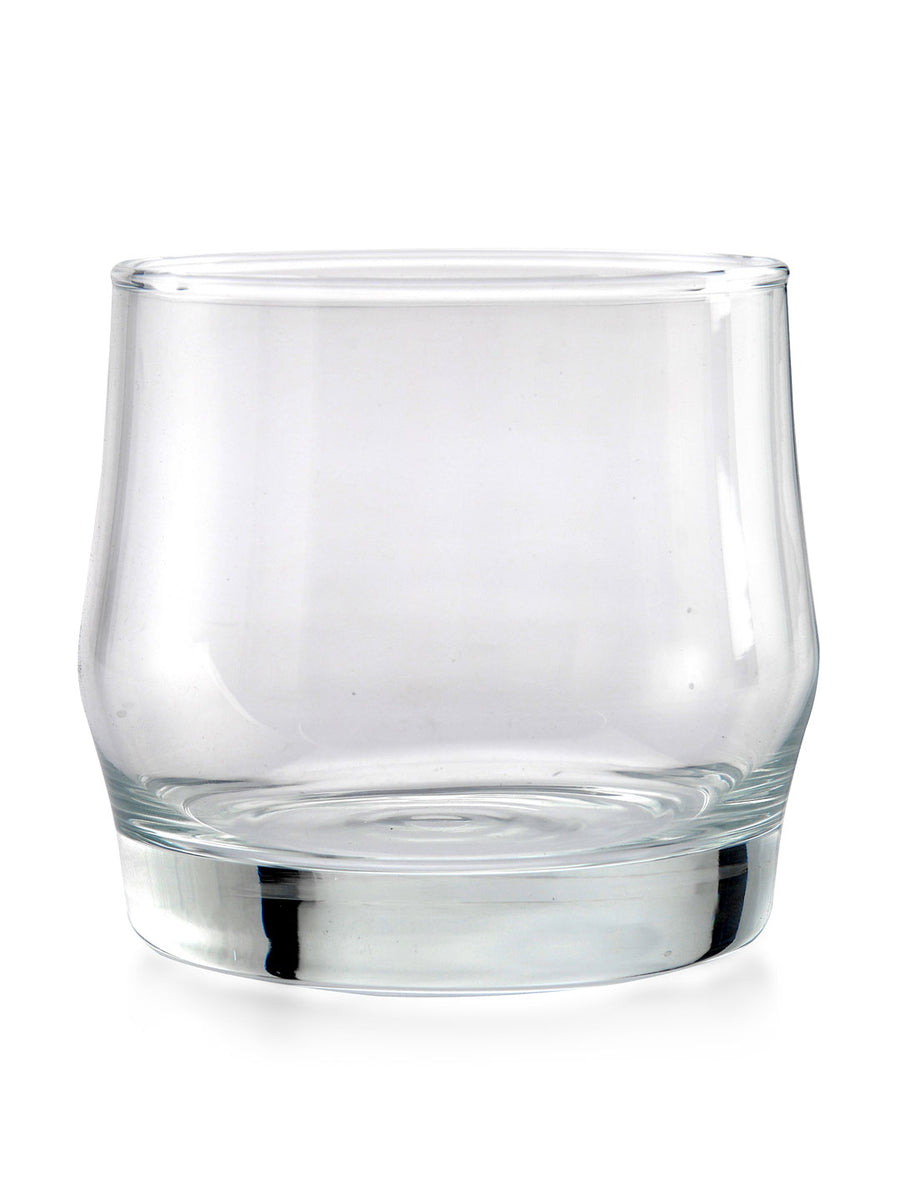 Scirio 310 ml Whiskey Tumbler 6 Pieces (Clear)