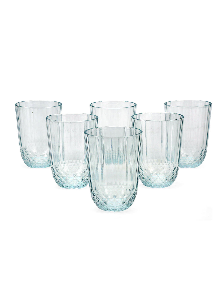 Diony  Stemware 255 ml Glasses 6 Pieces (Clear)