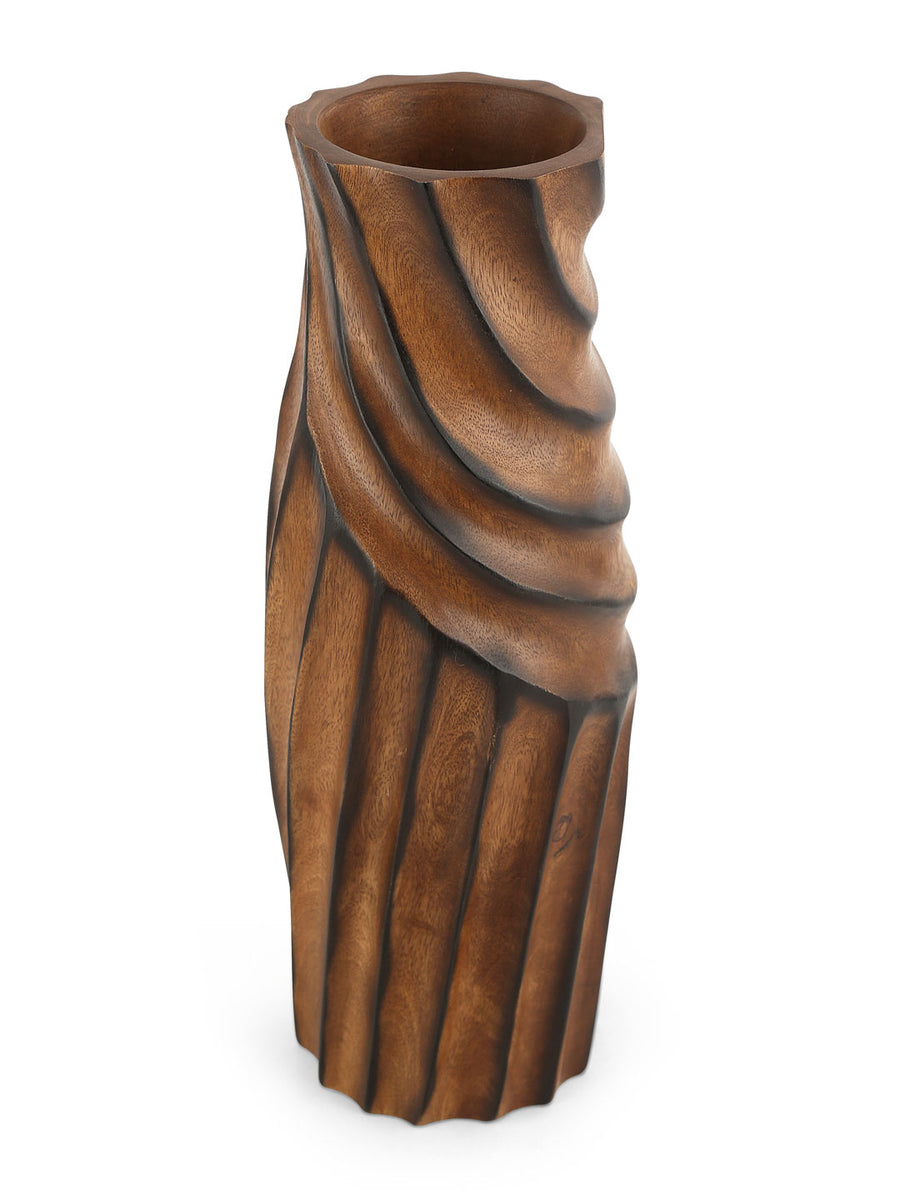 Imprint Vase (Brown)
