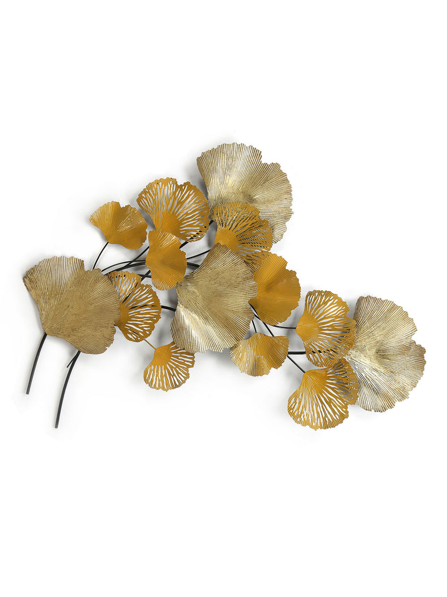 Fan Leaf Wall Decor (Yellow)