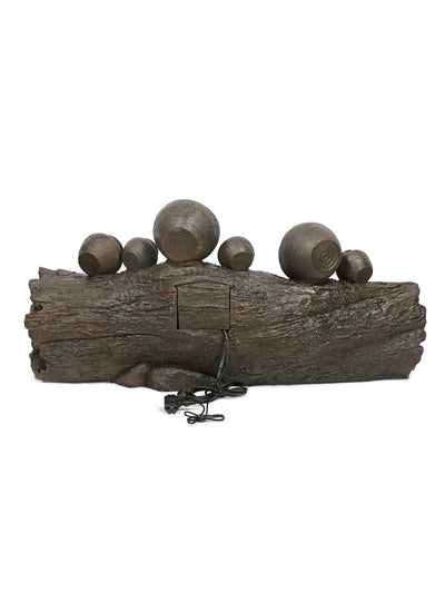 Pots On Trunk Water Fountain (Brown)