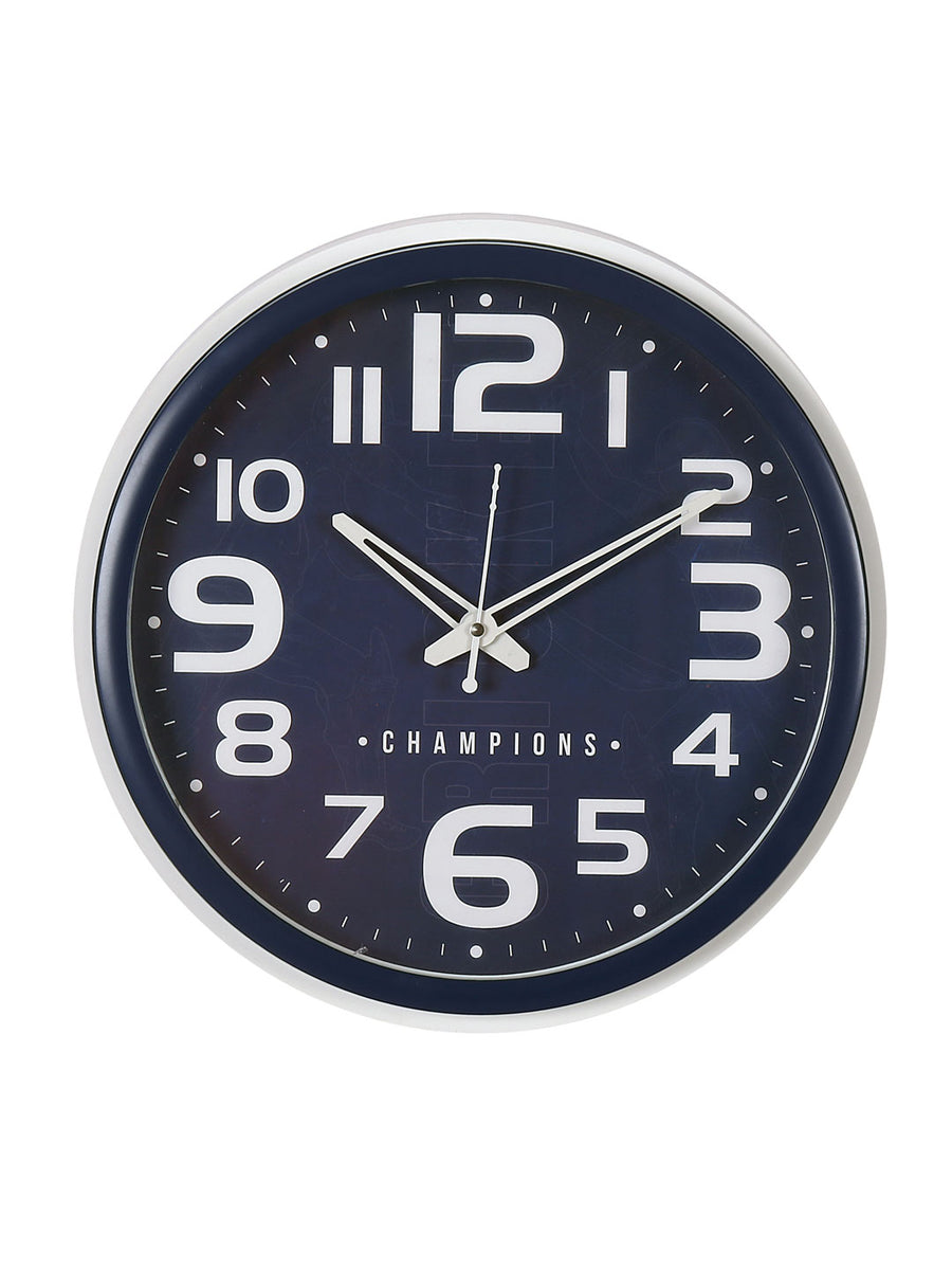 """83"" Classic Champion Wall Clock (Blue)"
