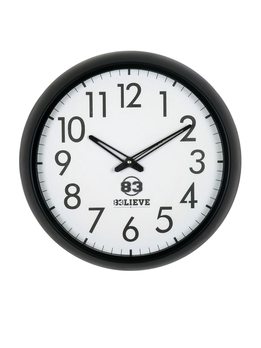 """83"" World Cup Wall Clock (Yellow)"