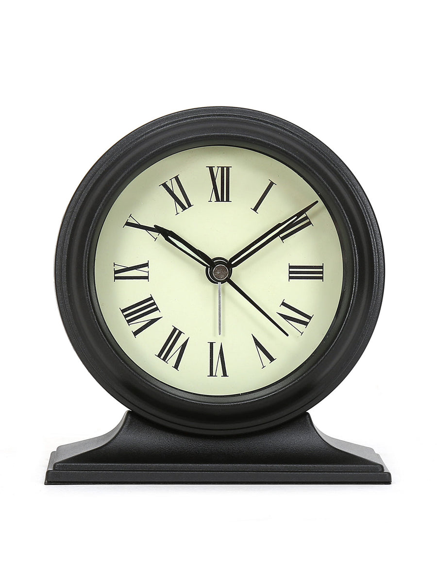 Sigma Table Clock (Black)