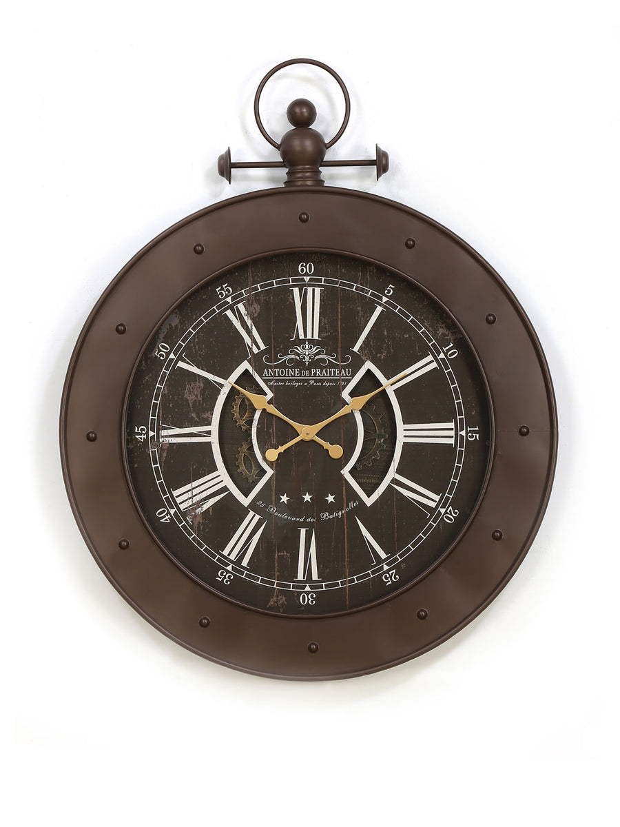 Emperor Wall Clock (Brown)