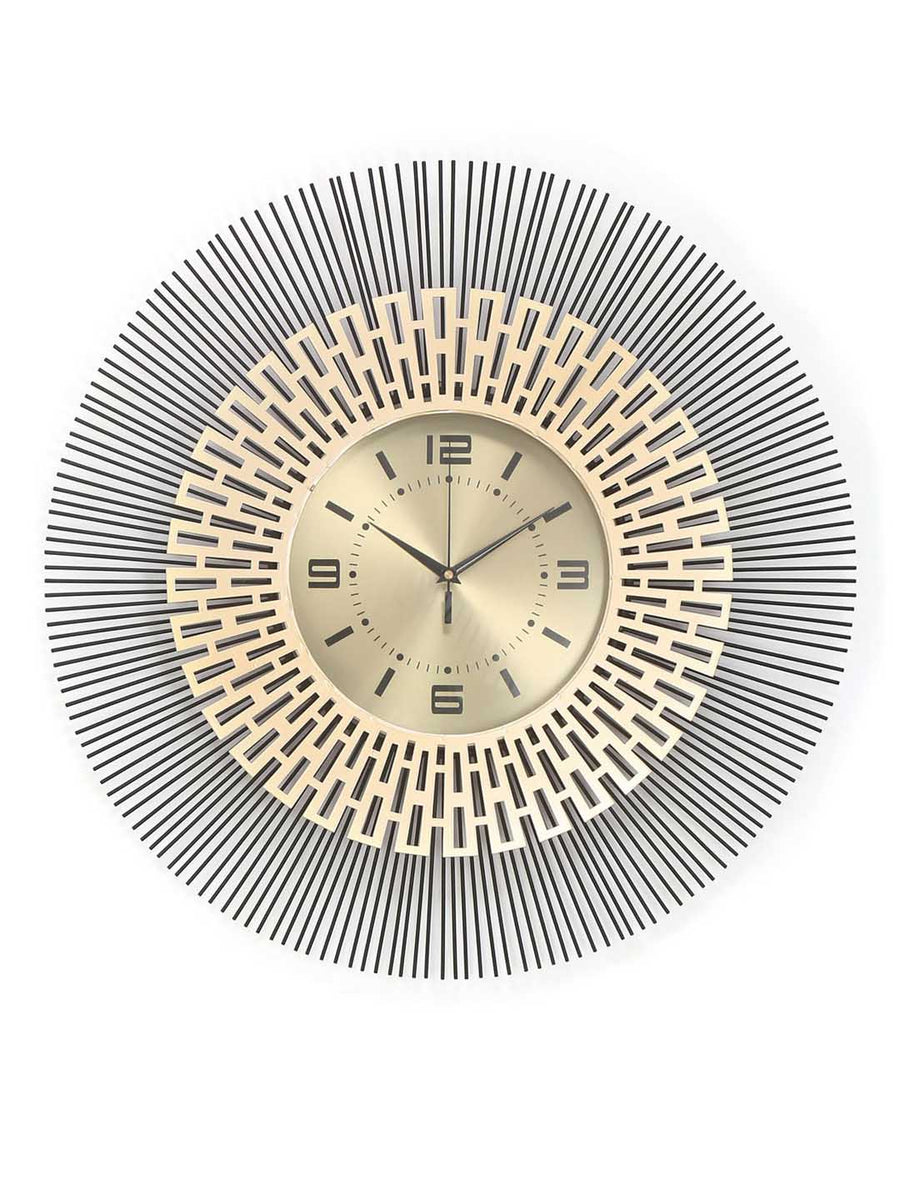 Cleopatra Wall Clock (Gold)