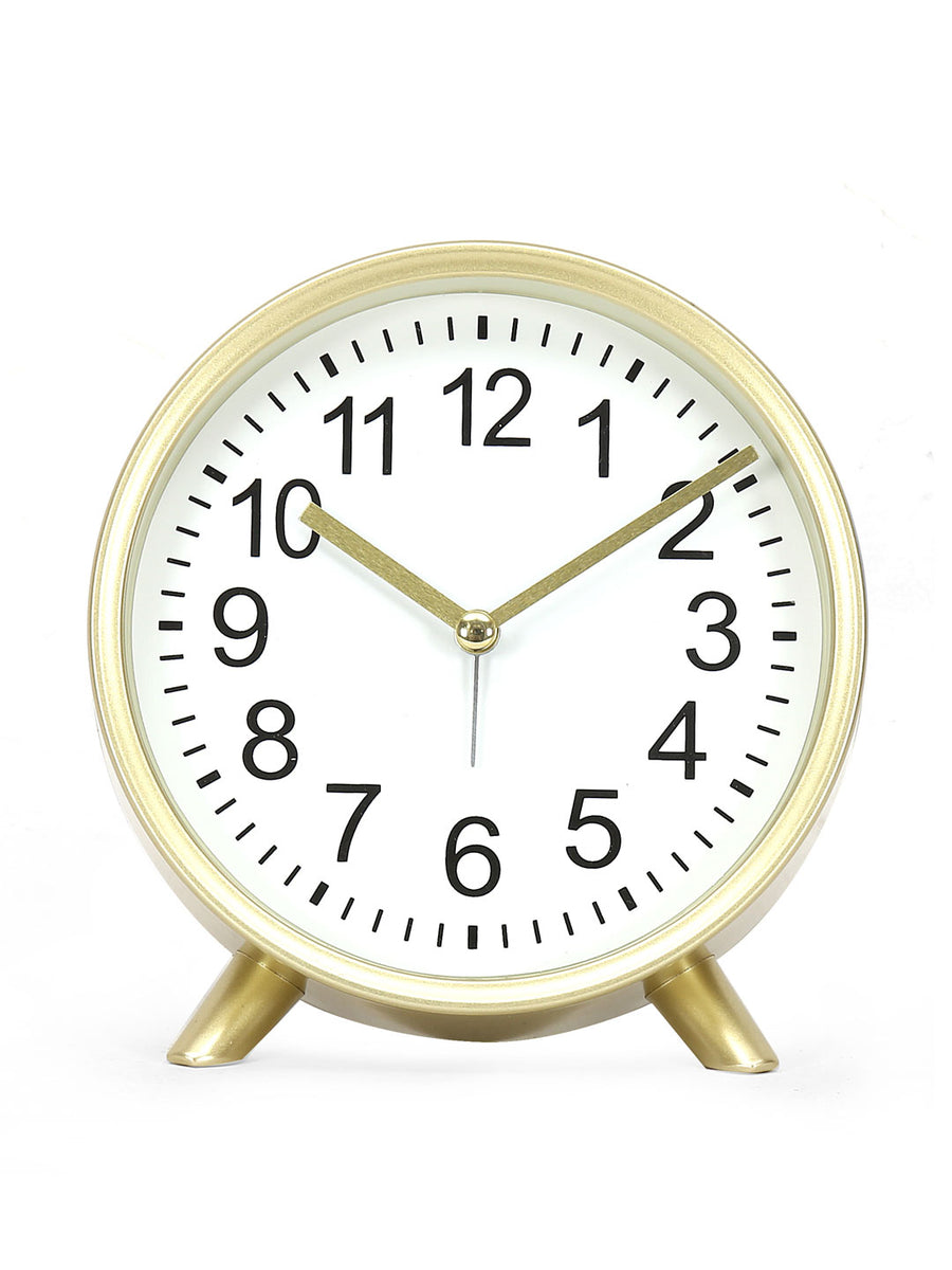Sleek Table Clock (Gold)
