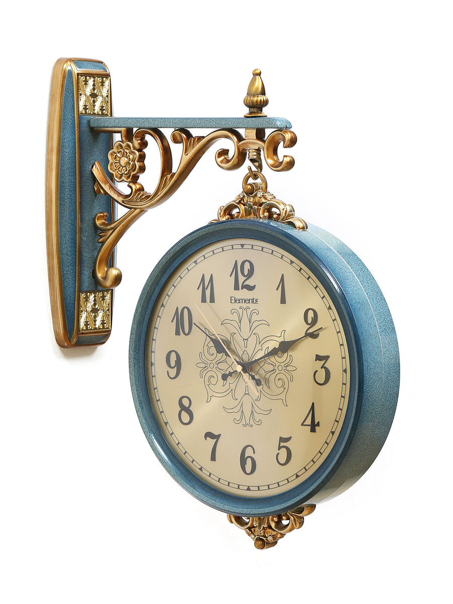 Mughal Station Clock (Sea Green)