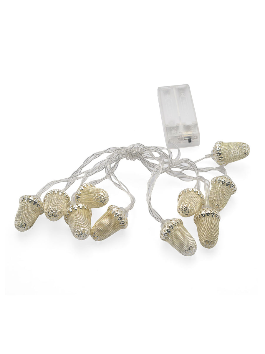 Mushroom Festive String Light (Gold)