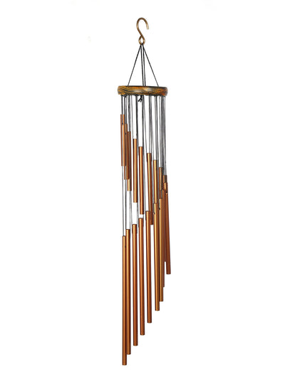 Swirl Bells Wind Chime (Copper)