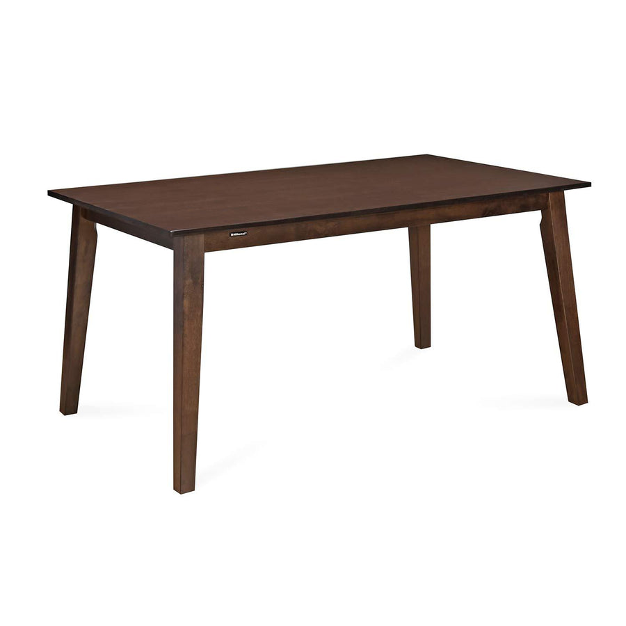 Amber 6 Seater Dining Table (Wenge)