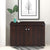Churchill Shoe Cabinet/Rack (Walnut)
