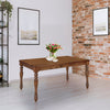 Jade 6 Seater Dining Table (Brown)