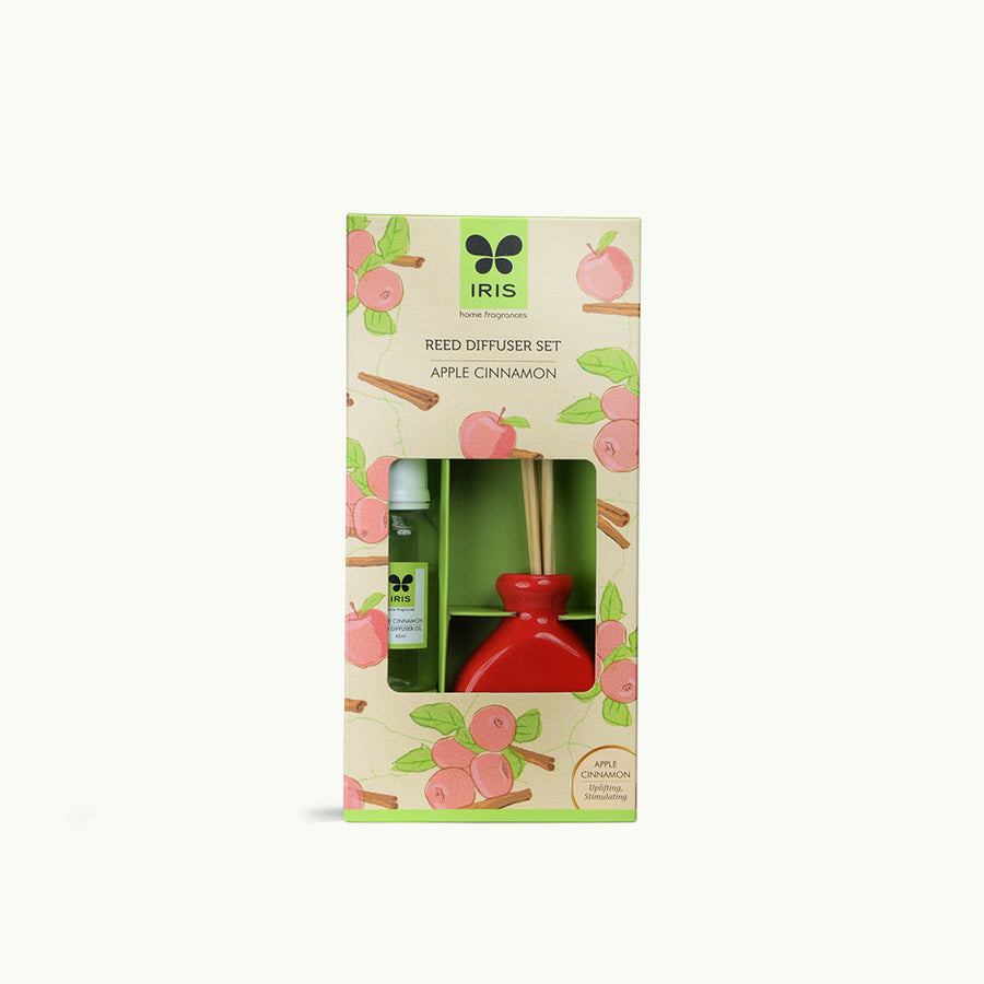 Iris Promo Reed Diffuser-Apple Cinnamon( Red)
