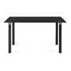 Isaac 6 Seater Dining Table (Black)