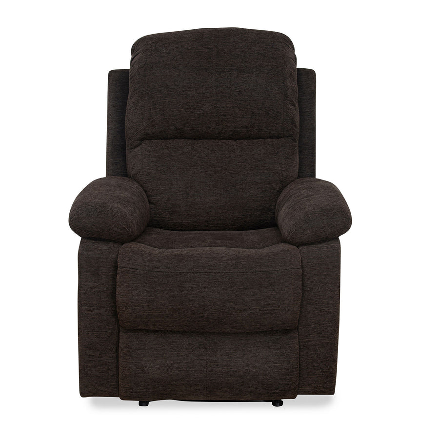 Jason 1 Seater Manual Recliner (Brown)