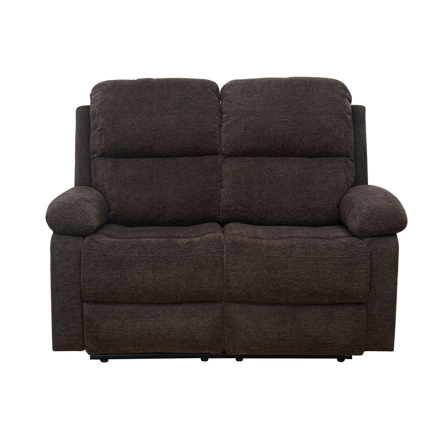 Jason 2 Seater Manual Recliner (Brown)