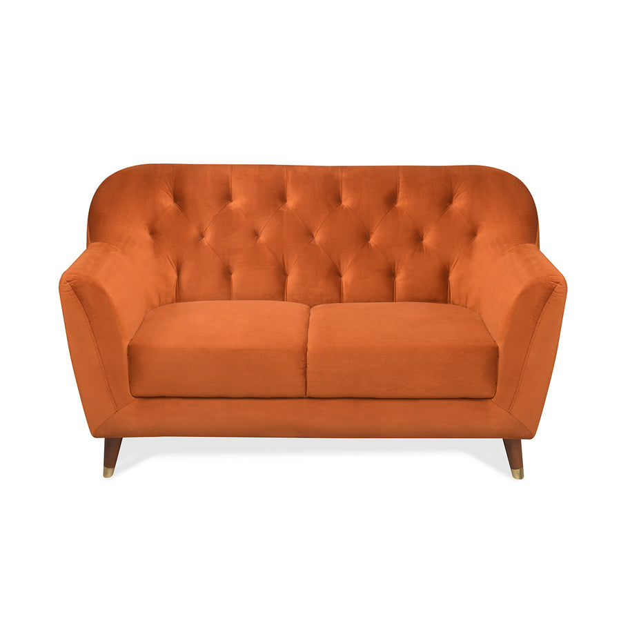 Jennifer 2 Seater Sofa (Rust)