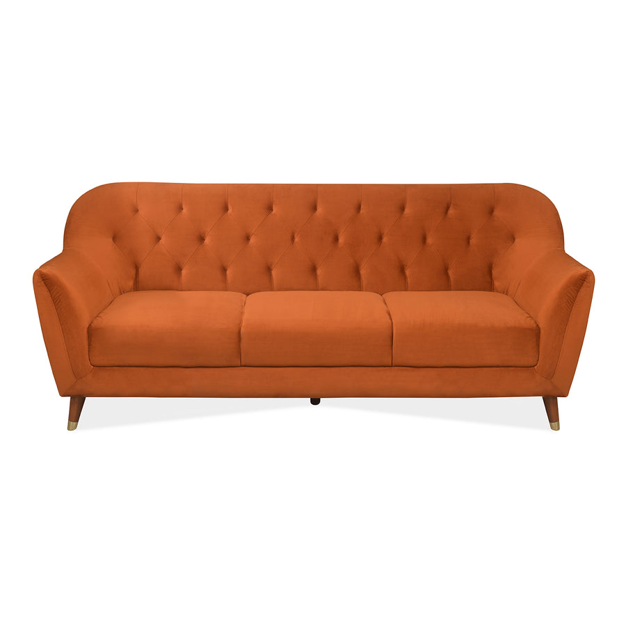 Jennifer 1 Seater Sofa (Rust)