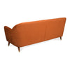 Jennifer 3 Seater Sofa (Rust)