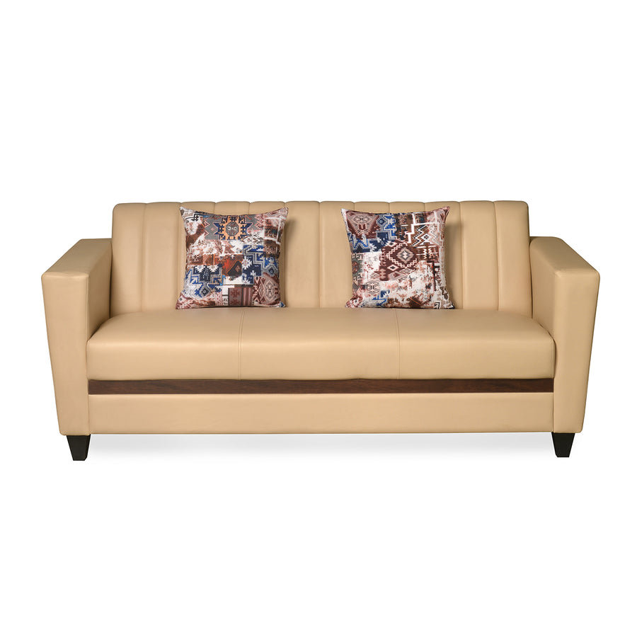 Joy 3 Seater Sofa (Ivory)