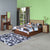 Jubilee King Bedroom Set (Walnut)