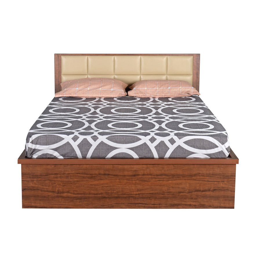 Jubilee King Bed with Hydraulic Storage (Walnut)