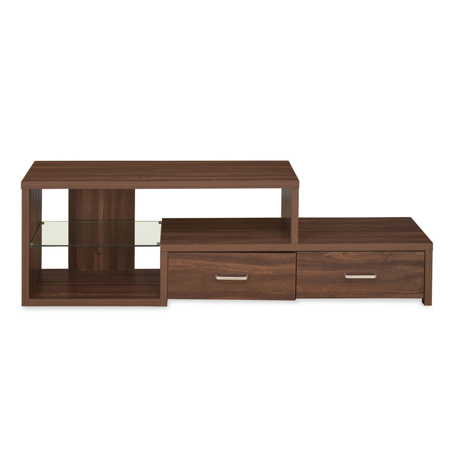 Larsson Low Height TV Unit (Dark Walnut)