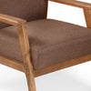 Layla 1 Seater Sofa Light (Walnut)