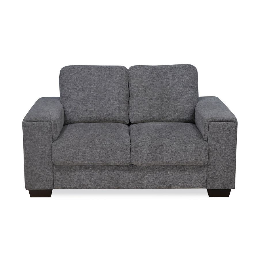 Leah 2 Seater Sofa (Grey)
