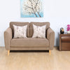 Livia 2 Seater Sofa (Brown)
