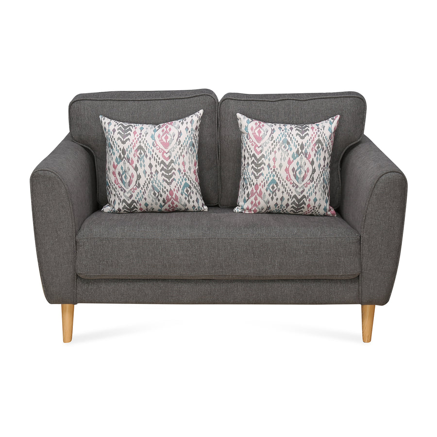 Livia 2 Seater Sofa (Grey)
