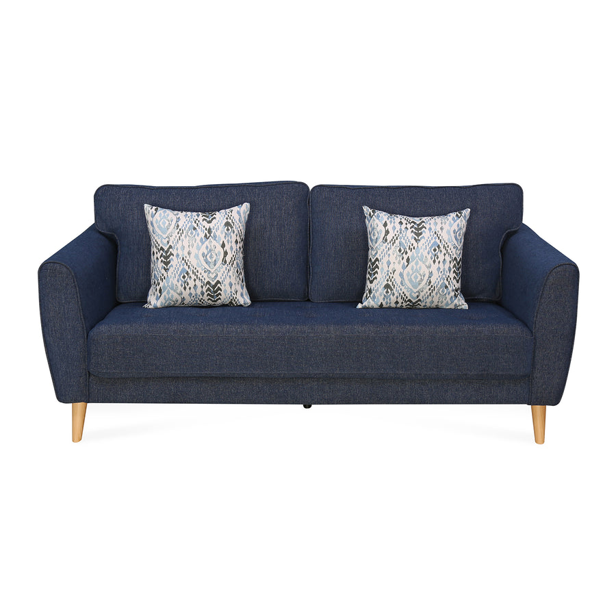 Livia 3 Seater Sofa (Blue)
